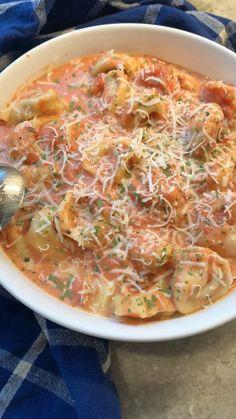 Pasta Recipes, Soup Recipes, Vegetarian Recipes, Healthy Recipes, Easy Comfort Food Recipes, Healthy Food, I Love Food, Good Food, Yummy Food