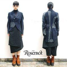 COMME DES GARCONS Light Wool Tuxedo Jacket