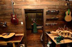 Lutherie-guitare Migneault   Luthier à Montréal   ATELIER