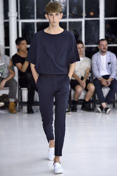 Hollywood Spring/Summer 2016 - New York Fashion Week: Mens -N. Hollywood Spring/Summer 2016 - New York Fashion Week: Mens - Trendy Fashion, Fashion Outfits, Mens Fashion, Fashion Trends, Fashion 2016, Kpop Fashion, Fashion Spring, Fashion Photo, New Yorker Mode