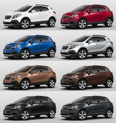 2016 Buick ENCORE Colors 1-tile