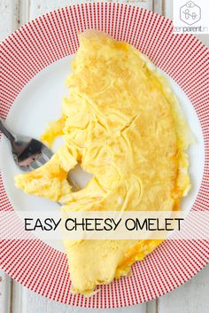 An omelette is a classic quick fix for breakfast, brunch or lunch. Follow our Easy Cheese Omelette recipe to see just how simple it is to get a cheese omelette on the table in minutes