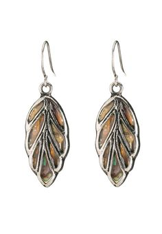 abalone shell earrings - #maurices