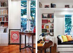 Blog sobre decoração, faça-você-mesmo, reaproveitamento e visitas a casas de verdade.