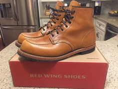 ботинки Red Wing Beckman Oxford Black Featherstone 63