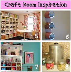 storage ideas-craft rooms