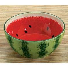 Watermelon Ceramic Dip Bowl