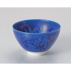 Matcha bowl blue crystal tea bowl (c ) [12.2 x 7.4cm] for strengthening Japanese instrument Liquor restaurant hotel business >>> For more information, visit image link.
