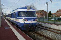 LA PASSION DU TRAIN: X 1501/02 en tournée dans le Nooorrrd !!!