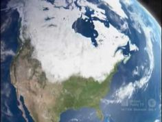Excellent video clip explaining continental glacier, ice ages & formation of the Great Lakes.