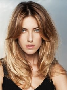 How's about a disconnected fringe with some long layers, this....we like!