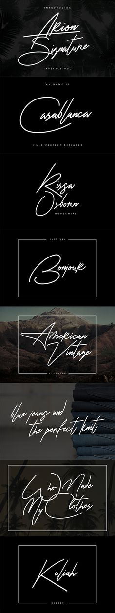 "Buy Arion Signature Typeface by maulanacreative on GraphicRiver. Give your designs an authentic handcrafted feel. ""Arion Signature Typeface"" is perfectly suited to stationery, logos . Typography Letters, Typography Logo, Typography Design, Branding Design, Typography Sketch, Wedding Typography, Elegant Logo Design, Signature Fonts, Signature Ideas"