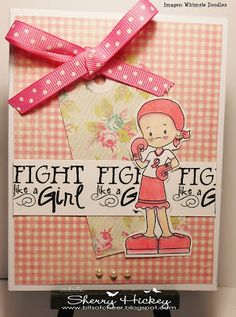 """Bits of Cheer: """"Fight Like a Girl"""" W2SB challenge"""