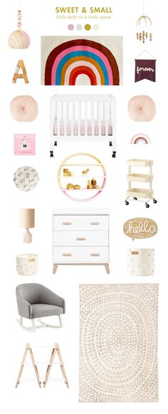 I know at times space can be a challenge when trying to put together a place for baby; here are some pieces that are both affordable and take up … Kid Spaces, Small Spaces, Boy Room, Girl Rooms, Kids Room, Little Boys Rooms, Small Space Nursery, Bedroom Decor For Teen Girls, Room Ideas