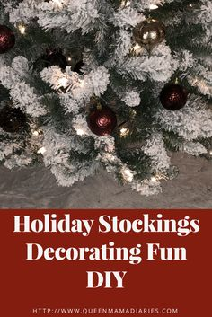 Holiday stocking fun DIY tutorial decorating #decor #holiday #fun #afflinks #tutorial #stocking #diy #Christmas #mamablog #family