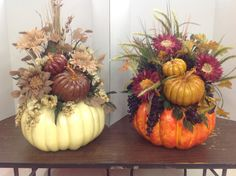 More Decorative pumpkins