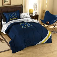 Collegiate University of Michigan Complete Bed Ensemble - Bed Bath & Beyond