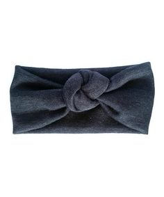Look at this #zulilyfind! Charcoal Gray Knotted Headband #zulilyfinds