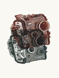 """See The Future, Archival Print / """"RADAR"""" Exhibition by Bruce Mackay 
