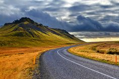 The road goes ever on | Vik, Iceland