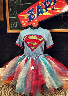DIY easy tutu/ Superhero costume