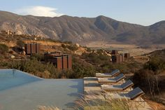 Hotel Endémico, ao norte de Ensenada, no Estado da Baja California.