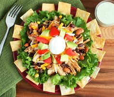 Cooking Classy: Taco Salad and Cilantro Lime Ranch