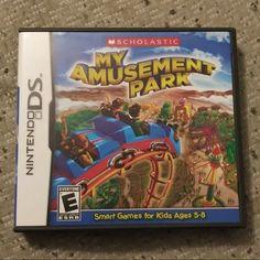 My Amusement Park Nintendo DS Dsi on Mercari Ds Games, Nintendo Ds, Amusement Park, Games For Kids, Animal Crossing, Arcade, Baseball Cards, Gaming, Games
