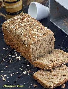 Multigrain Bread, Homemade Multigrain Bread