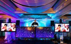 James Daniel Productions DJ Booth - mazelmoments.com