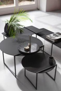 Stitch Nero Ingo l Marc Th. van der Voorn l Odesi. Your Dutch Design. Charcoal, Sweet Home, Stitch, Black And White, Coffee Tables, Interior, Furniture, Architecture, Decoration