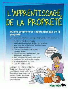 L'apprentissage de la propreté Education Positive, Kids Education, Kids And Parenting, Parenting Hacks, Child Life, Julia, Potty Training, Learn French, French Language