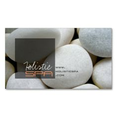 Photography | White Pebbles Spa | Profile Card Business Card Templates. Make your own business card with this great design. All you need is to add your info to this template. Click the image to try it out!