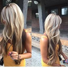 wonderful #highlights and #lowlights in #blonde
