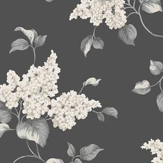 """Found it at Wayfair - English Florals 32.7' x 20.5"""" Lilac Wallpaper"""