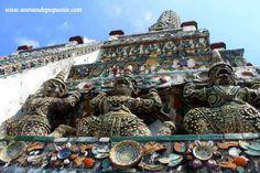 Demonios en Wat Arun #Bangkok #Tailandia #Asia