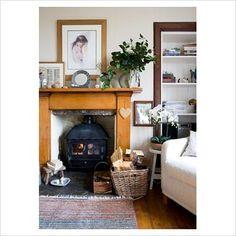 Home Decor - clean and cozy Irish / British sitting room