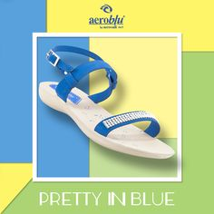 We believe that the prettier the shoes, the prettier you look. Try these to put some love in your Tuesday blues. #Aeroblu