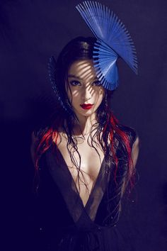 Model Fan Bingbing, photographer Chen Man for Madame Figaro, China, May 2012