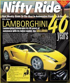 Lamborghini, Ferrari, Las Vegas Review Journal, 40 Years, Good Things, Celebrities, Celebs, Celebrity, Famous People