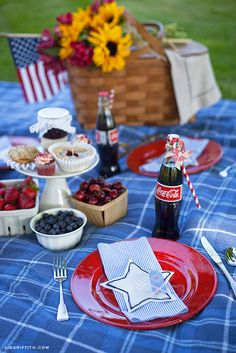 A DIY Vintage Fourth of July Celebration