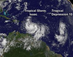 As Seen From Space: The Tropical Storm That Is Heading Toward the Republican National Convention