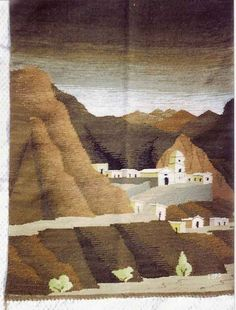 Landscape Tapestry Weaving