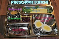 Healthy School Lunch and Snack Ideas