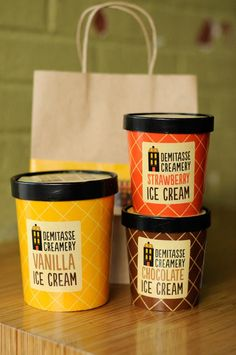 60 Deliciously Creative Ice Cream Packaging Designs - Jayce-o-Yesta
