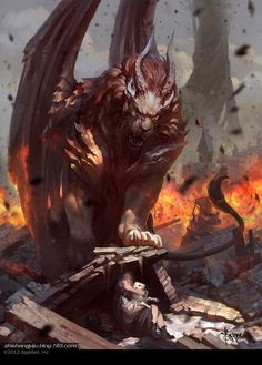 Survivor, Fantasy art