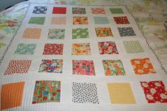 Quilt Made From A Charm Pack For Moda By American Jane   Flickr - Photo Sharing!