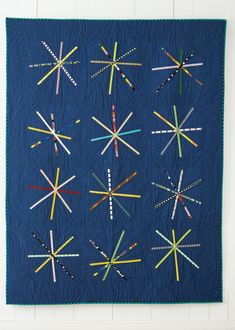 Spark from Quilt Giving: 19 Simple Quilt Patterns to Make and Give by Deborah Fisher #quiltpatterns #modernquilting