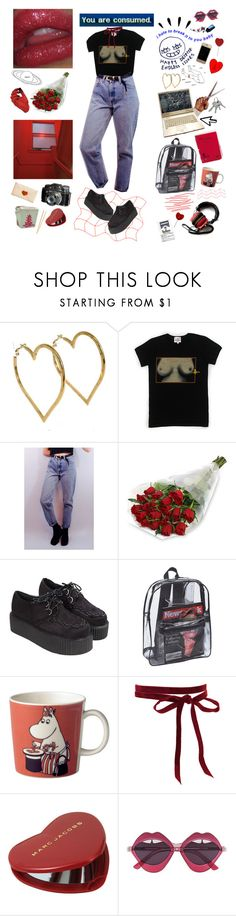 """""""You are consumed."""" by iwanttodieplshelp ❤ liked on Polyvore featuring Chanel, Dreamgirl, Vivienne Westwood, Levi's, Pointer, Arabia, Etiquette, Marc Jacobs, Old Navy and House of Holland"""