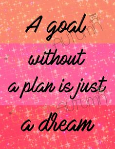 A Goal Without a Plan by owlsinautumn on Etsy